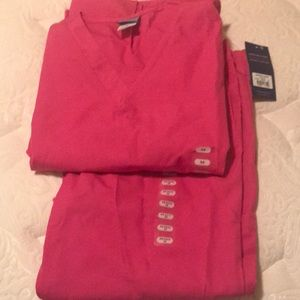 Cherokee pink scrub set